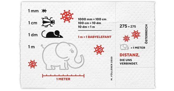 Austria Toilet Paper Stamp